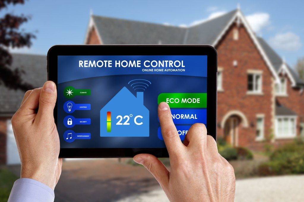 online home automation system