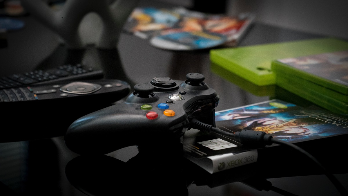 xbox on the table
