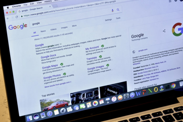 be on google concept