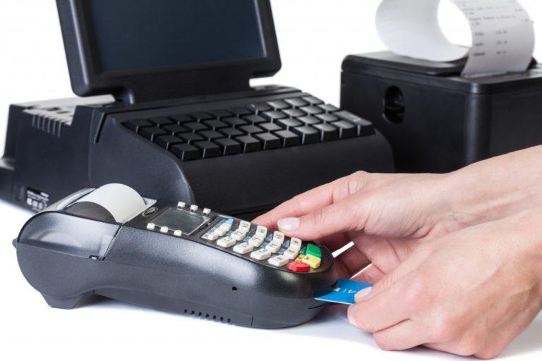 paying via card