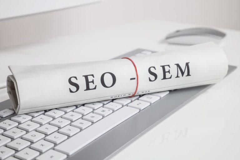 SEO and SEM visualized