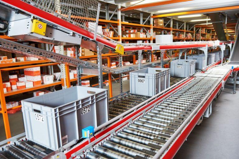 logistics sorting center